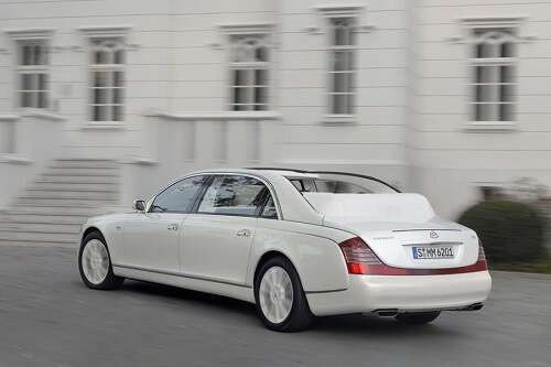The Landaulet by Maybach