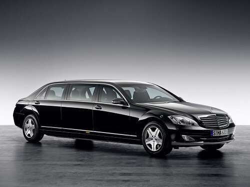 The S-600 Pullman by Mercedes-Benz