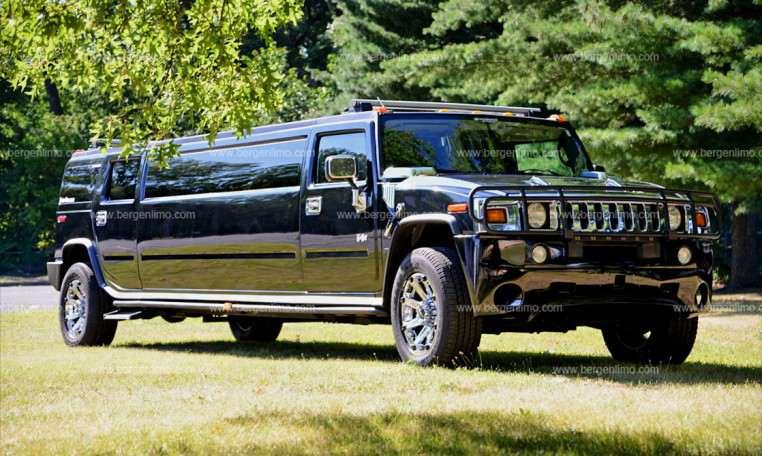 Black Hummer H2 Limo Hire Service - NJ & NY | Bergen Limo