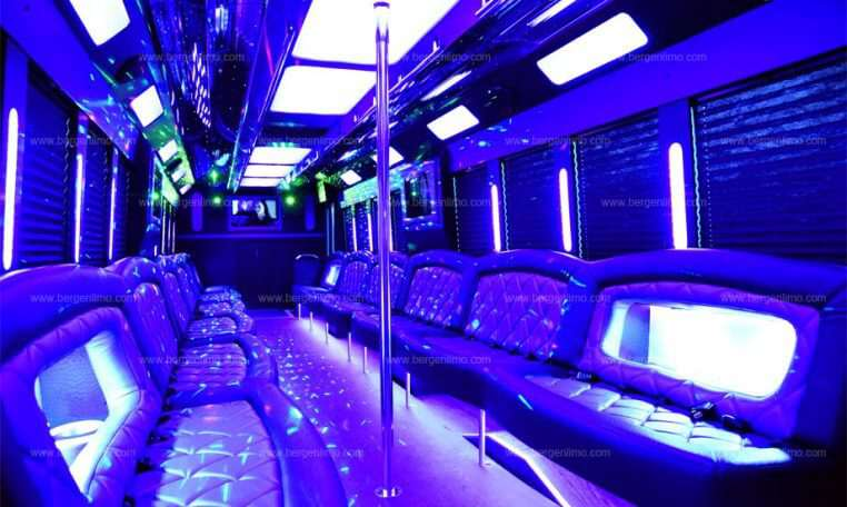 Ford F 750 Luxury Party Bus New Jersey Bergen Limo
